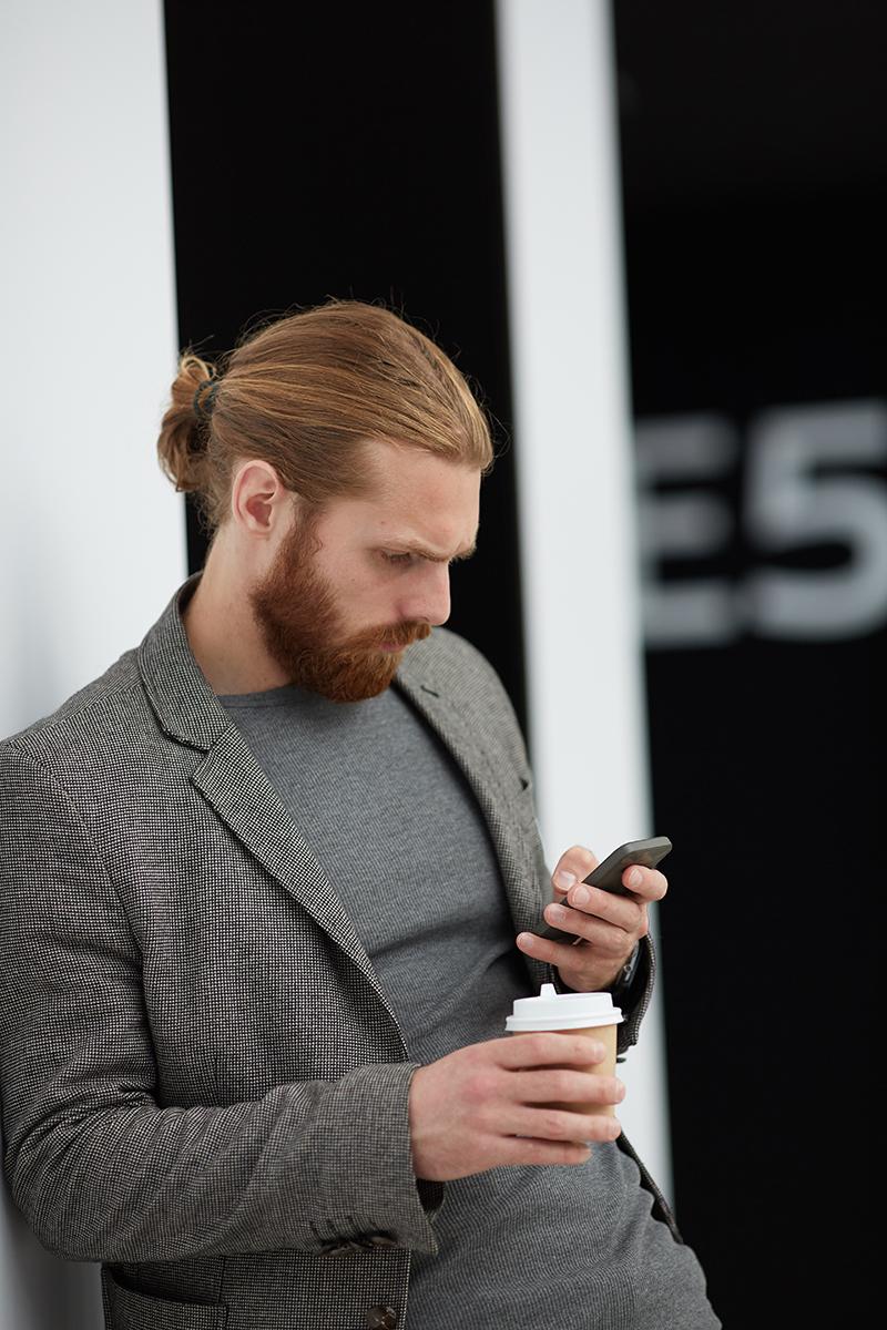 Reading phone